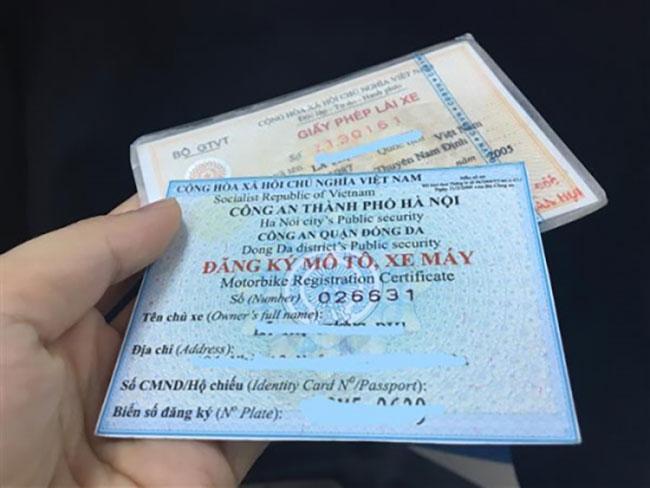 vay tiền bằng đăng ký xe, cavet xe